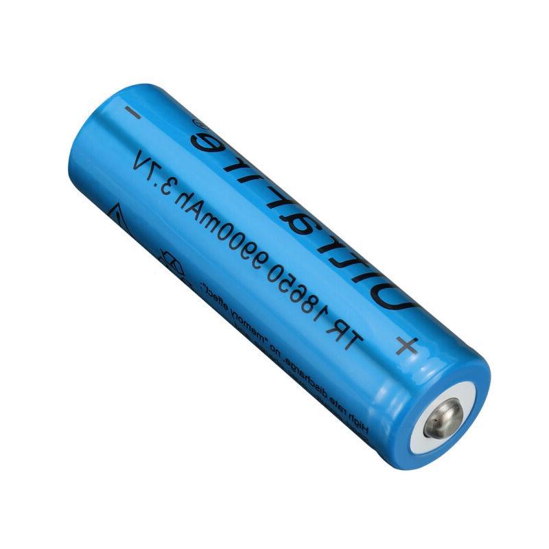 6X Rechargeable Batteries 9900mAh-18650Li-ion Battery