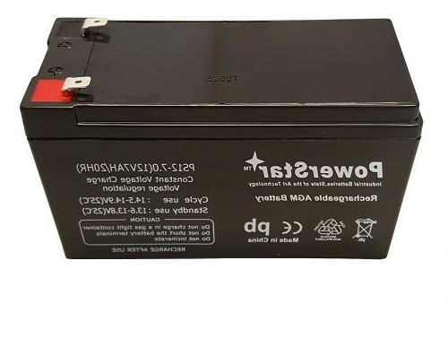SLA Rechargeable Battery Security Systems/Replaces 12 Volt