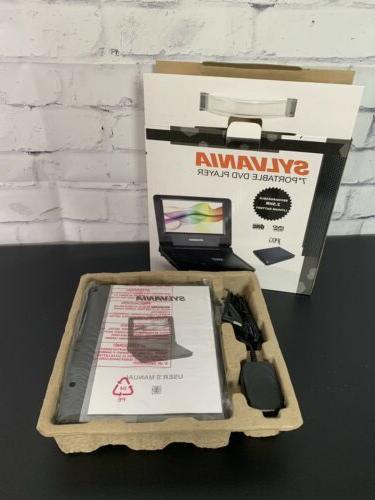 7 portable dvd player w rechargable 2