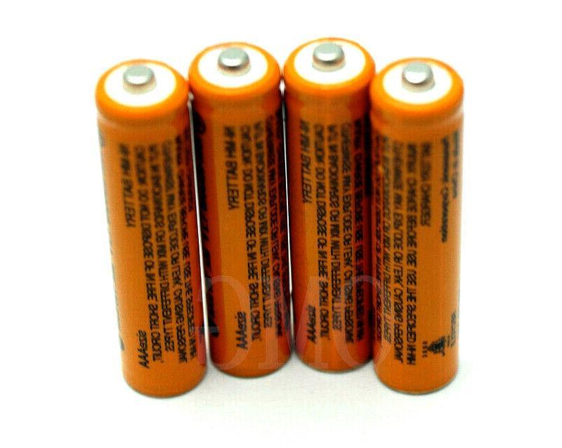 8 700mAh AAA Rechargeable Battery Panasonic Cordless Home Phone