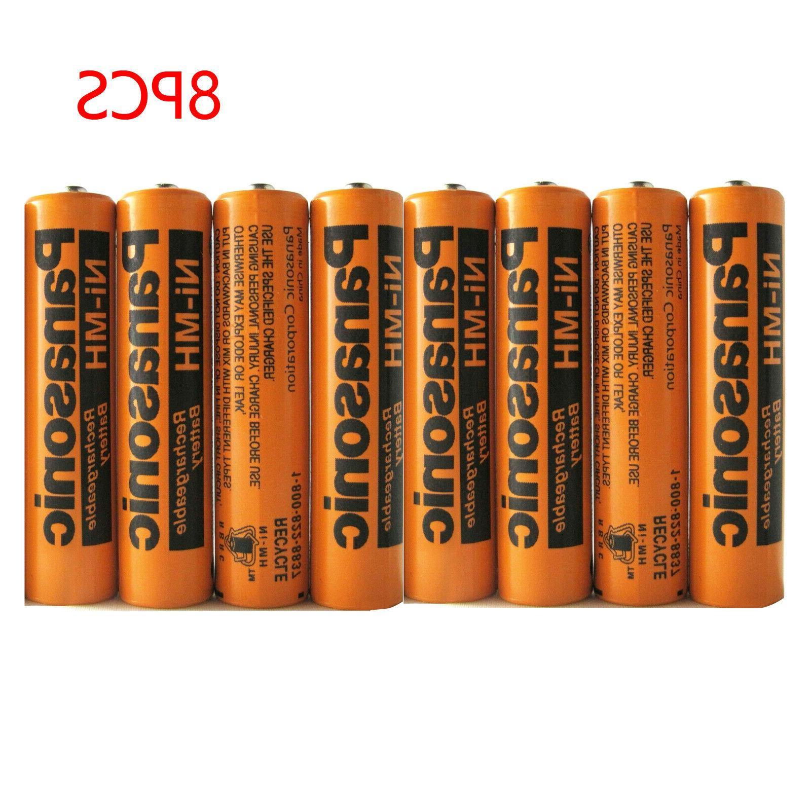 8 pack ni mh 700mah aaa rechargeable