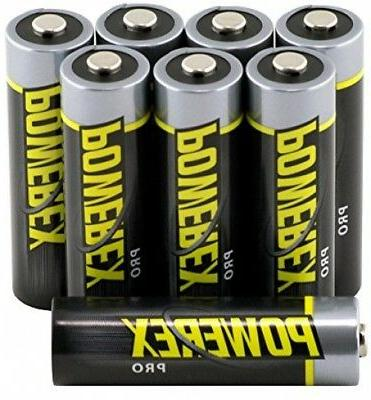 8 Rechargeable AA Batteries, Household Supplies Capacity 2700