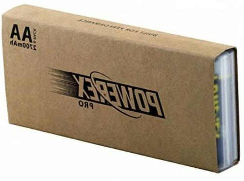 8 Batteries, Household Supplies Capacity MAH