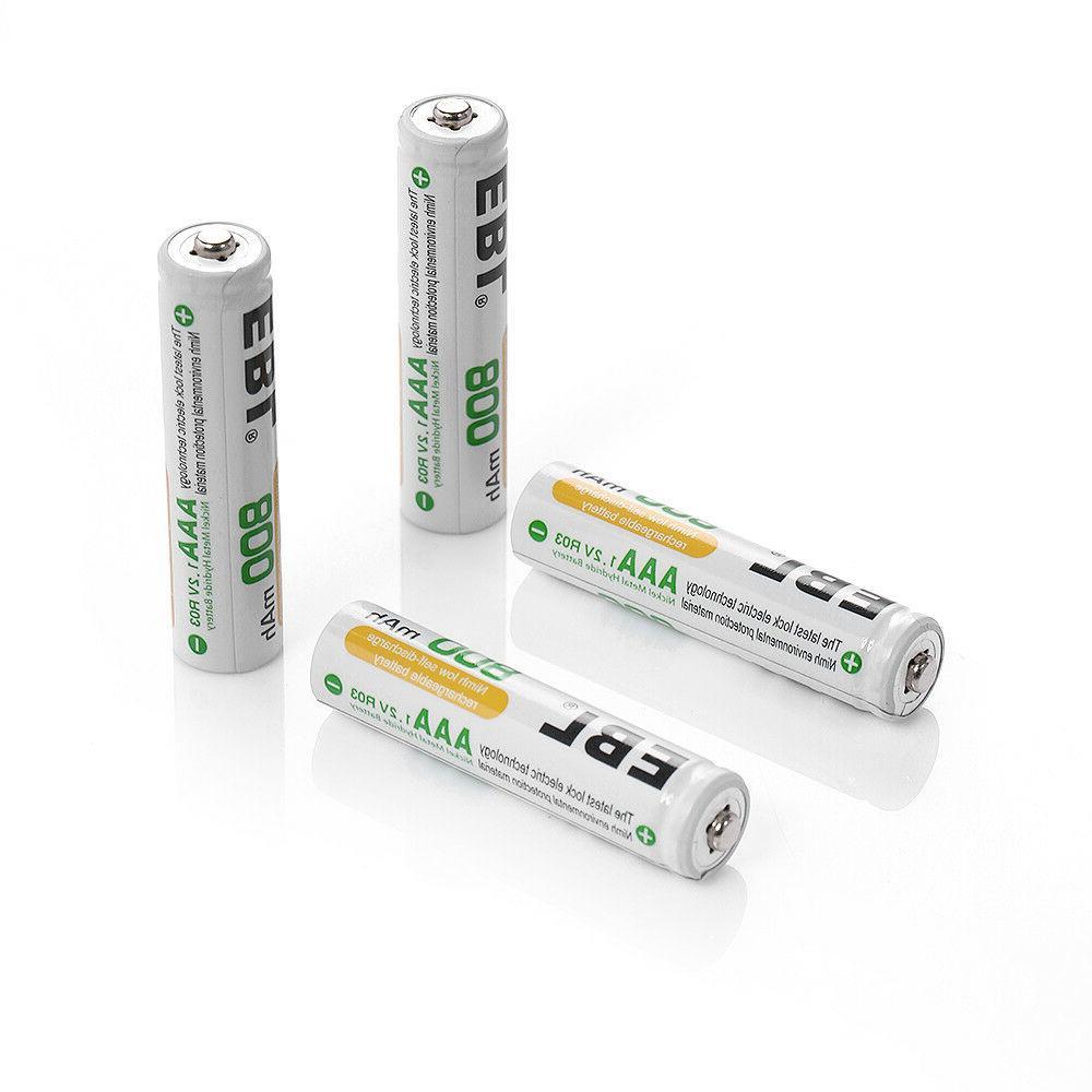 800mAh AAA NI-MH Batteries