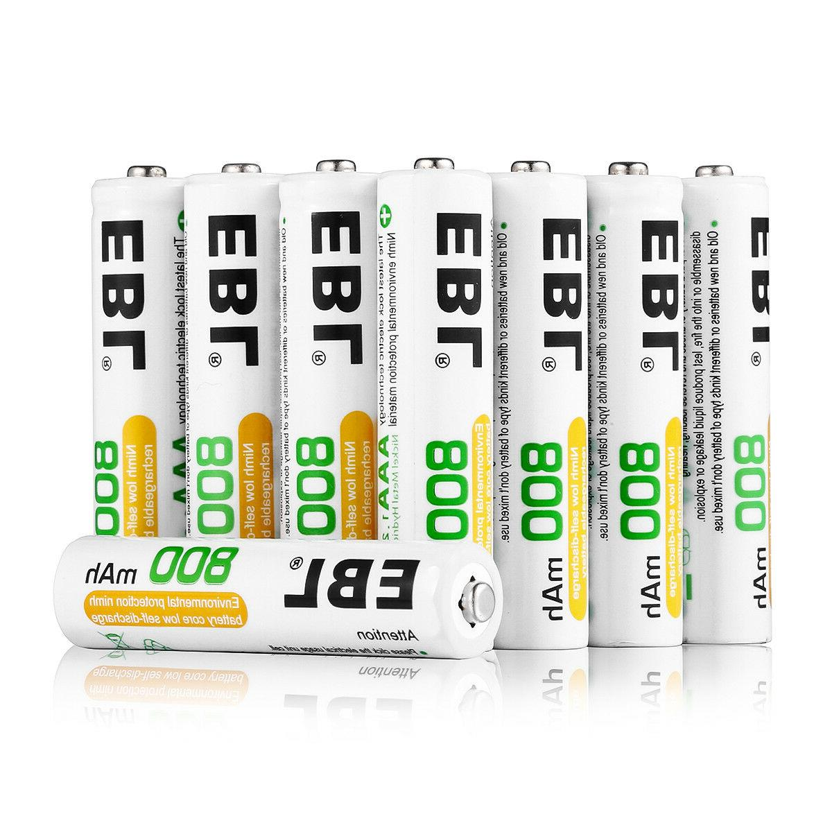 800mAh AAA Rechargeable Battery NI-MH Batteries For Toy Flashlight RC