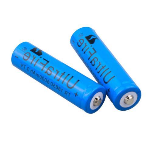 8pcs Ultrafire 18650 3.7v For Torch
