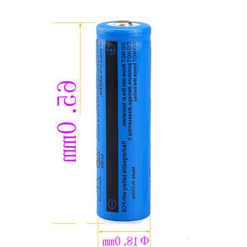 8pcs Ultrafire Battery 3.7v Li-ion Rechargeable For