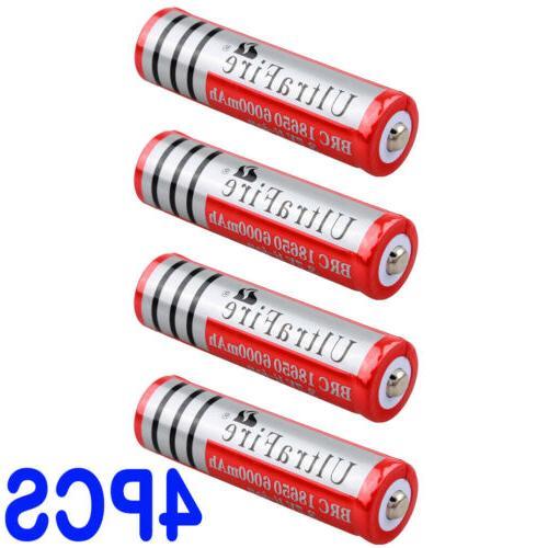 8pcs Ultrafire 3.7v Li-ion For