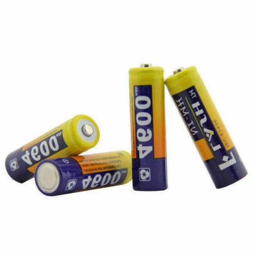 8PCs Batteries Li-ion 4600mAh NiMH For Camera