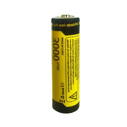 8PCS Rechargeable 3.7V 1865O Li-ion