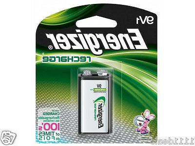 9 volt 9v nimh rechargeable battery