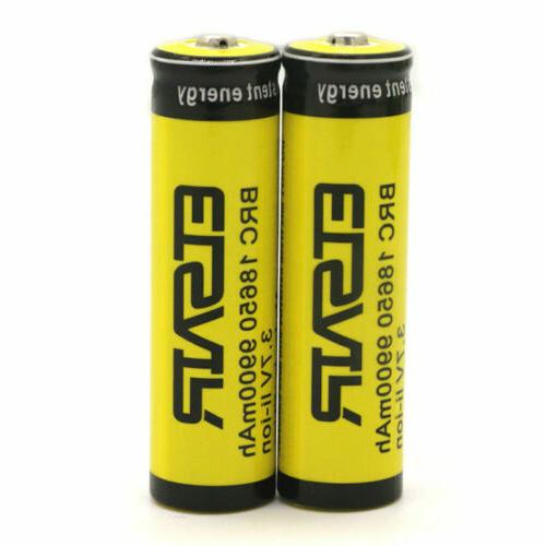 4Pcs 9900mAh Rechargeable Battery 3.7V From USA