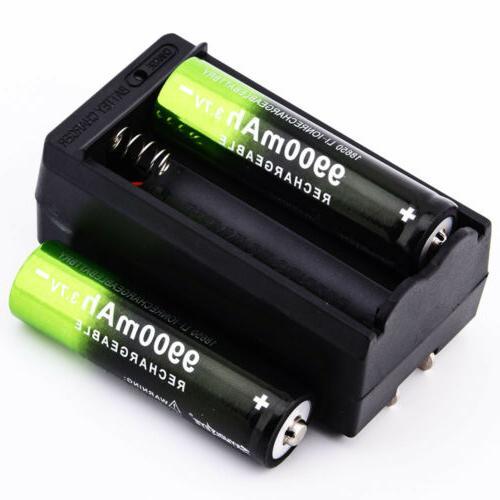 Li-ion Battery Flashlight Torch LED