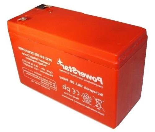 12V 9AH Gel Upgrades 12V 7.2Ah SLA Rechargeable Battery Systems/Replaced with Standard