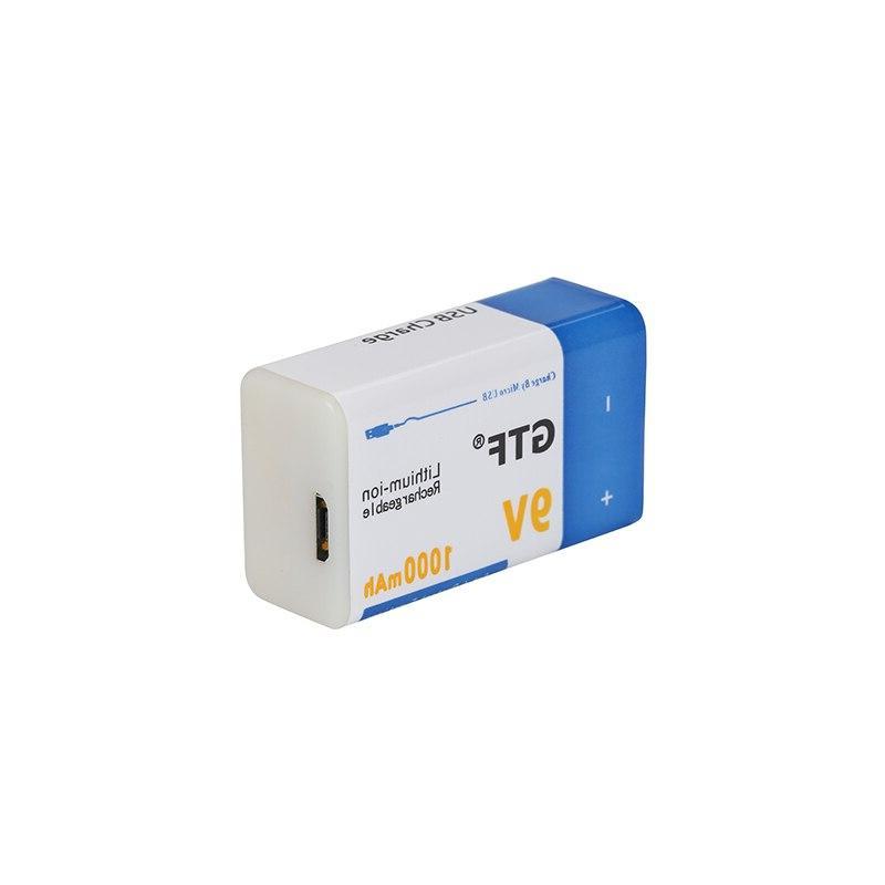9V <font><b>battery</b></font> USB <font><b>Batteries</b></font> 9 v lithium for Multimeter Toy Control use