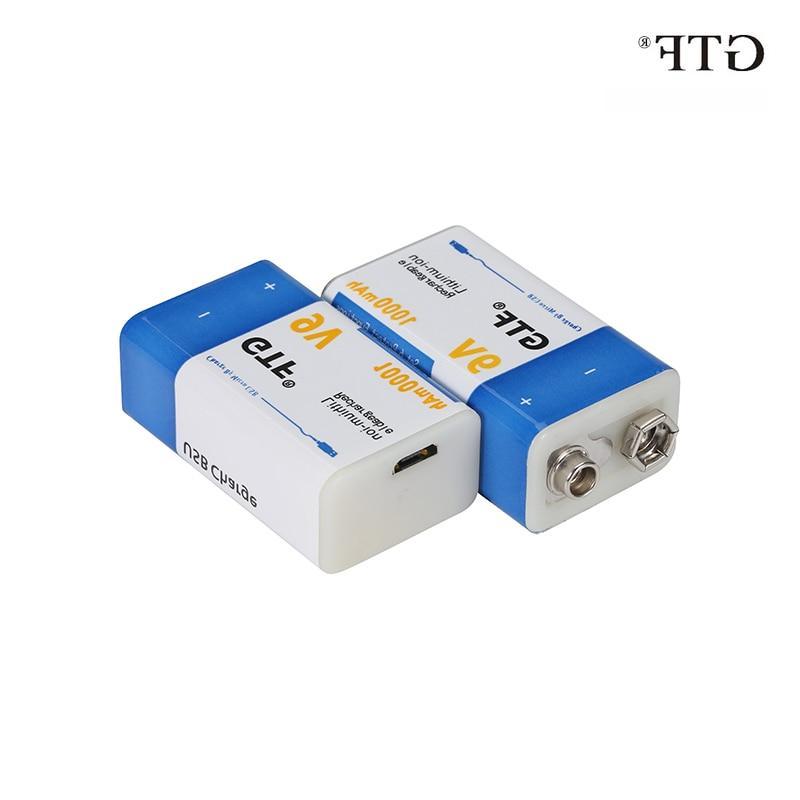 9v 1000mah li ion font b rechargeable