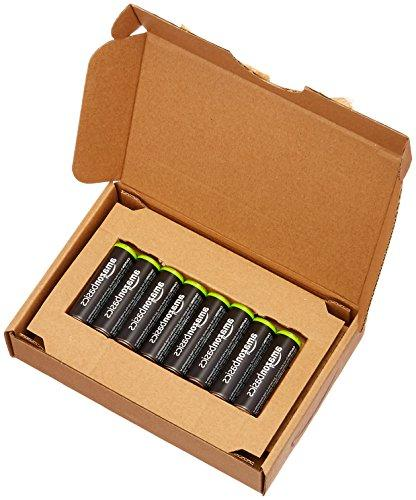 AmazonBasics AA Rechargeable Batteries Pre-charged Packaging May Vary