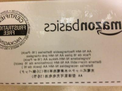 Amazonbasics AA Ni-MH Batteries, Sealed