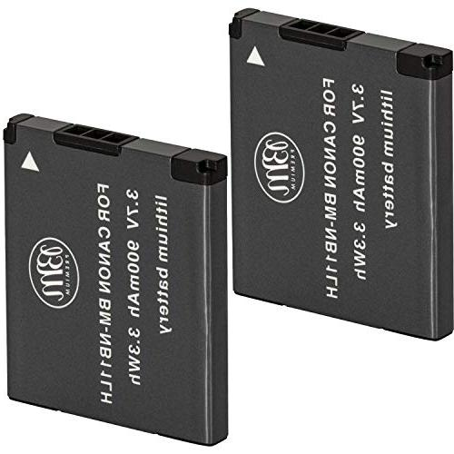 BM Premium 2 Pack Of NB-11L, NB-11LH Batteries for Canon Pow