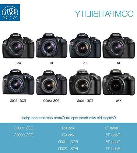 LP-E10 EOS Rebel T3, T6, Kiss EOS EOS 1200D, EOS 2000D Camera