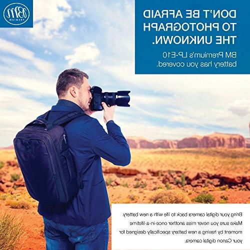BM Premium LP-E10 EOS Rebel T6, Kiss X70, EOS 1200D, EOS 2000D Camera