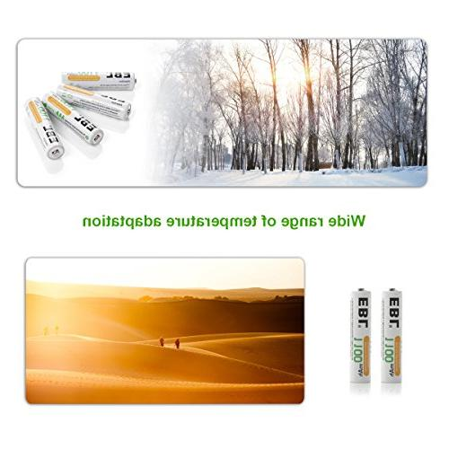 EBL Ni-MH Rechargeable Batteries Technology