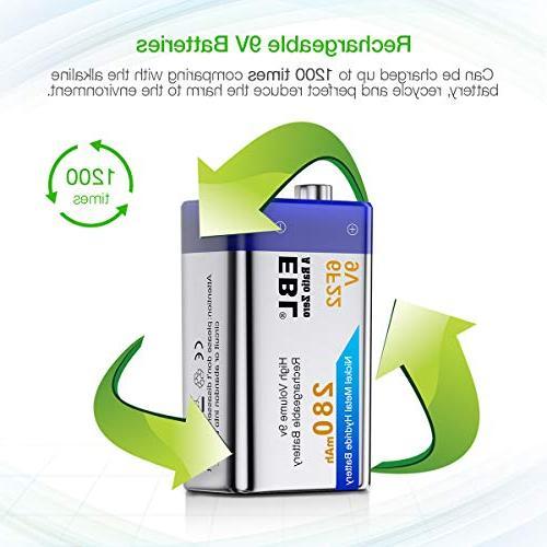 EBL Batteries NiMH 280mAh Battery