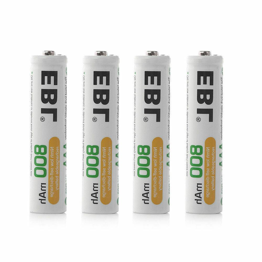 EBL Rechargeable AAA Batteries  Ready2Charge 1100mAh Ni-MH B