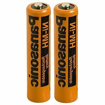 Panasonic HHR-75AAA/B-4 Ni-MH Rechargeable Battery for Cordl