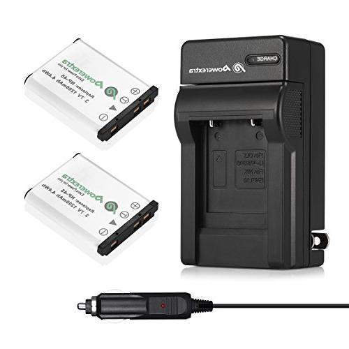 Powerextra NP-45A NP-45B NP-45S Compatible with INSTAX Mini Fujifilm FinePix XP20 XP50 XP60 XP70 XP80 XP90 XP130 T360 T400 T510