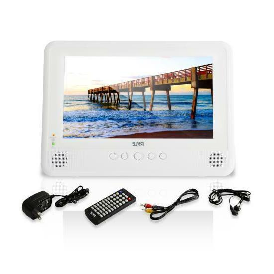 Pyle Waterproof DVD Player, Built-in Rechargeable Battery,
