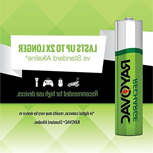 RAYOVAC AAA Batteries, LD724-4OP GENE