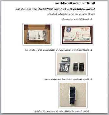 Rechargeable batteries kit for Netgear - 20 pack