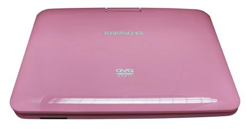 Sylvania 9-Inch Portable 5 Hour Battery, USB/SD Card AC/DC Pink