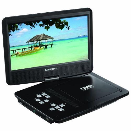 Sylvania SDVD1048 10-Inch Portable DVD Player, 5 Hour Rechar