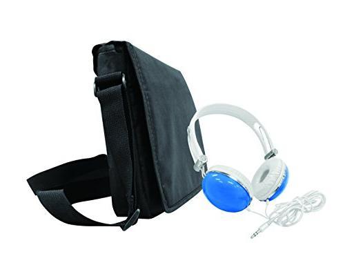 DVD Bundle Matching Oversize Headphones and Deluxe Travel