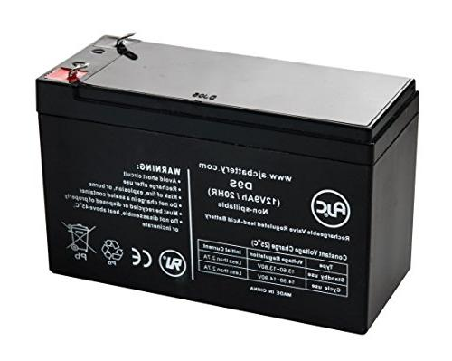 Vision CP1290, CP 1290 12V 9Ah UPS Battery - This is an AJC