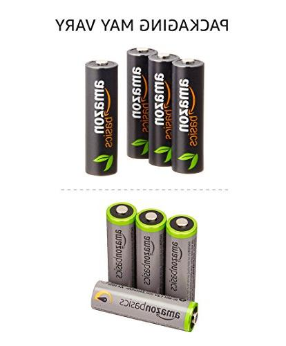 AmazonBasics AAA Batteries Pre-charged - Packaging May Vary