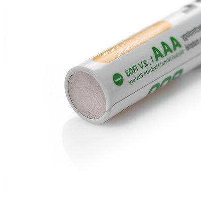 8x EBL Batteries +4-Slot AAA NI-CD Charger