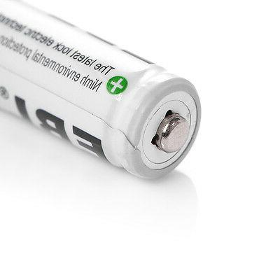 8x EBL AAA Batteries +4-Slot USB AAA Charger