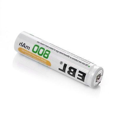 8x EBL AAA Batteries +4-Slot USB AAA NI-CD Charger