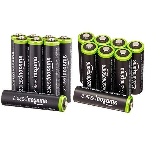 aa aaa rechargeable batteries charged