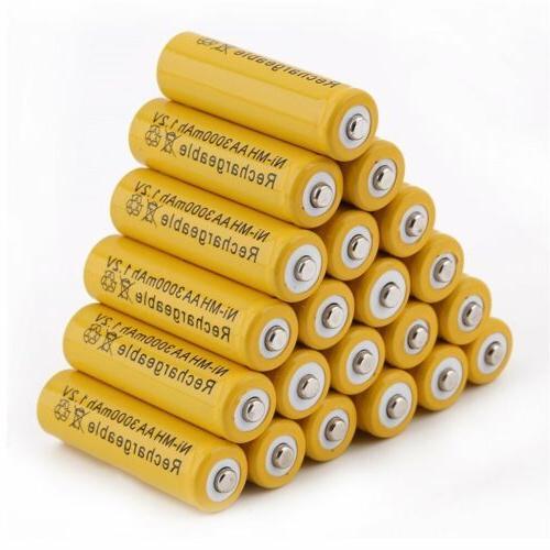 AA/AAA Rechargeable Battery Batteries 3000mAh Ni-MH LOT