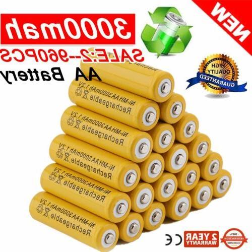 AA/AAA Battery Rechargeable Batteries LOT USA BT