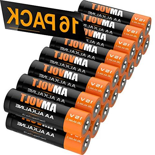 aa batteries lr6 alkaline battery
