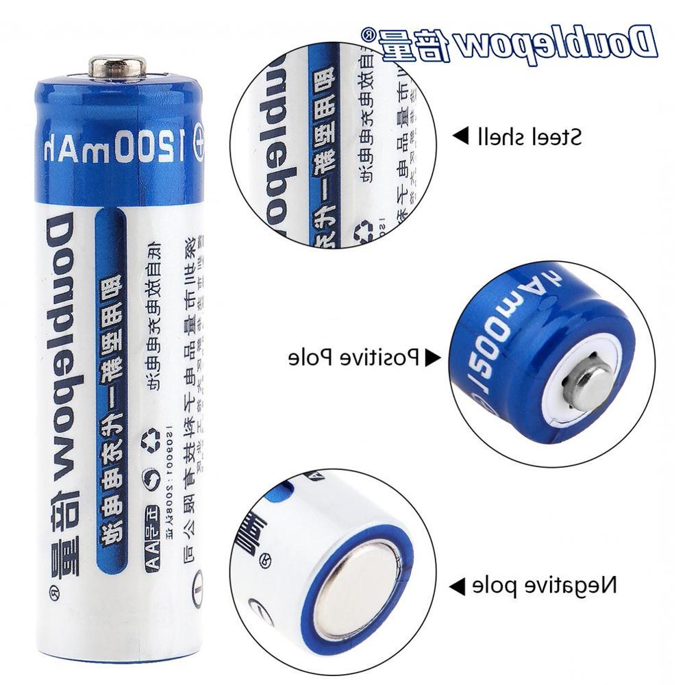 AA Ni-MH 4 Slots For <font><b>Battery</b></font> 1200mAh Portable <font><b>Battery</b></font>