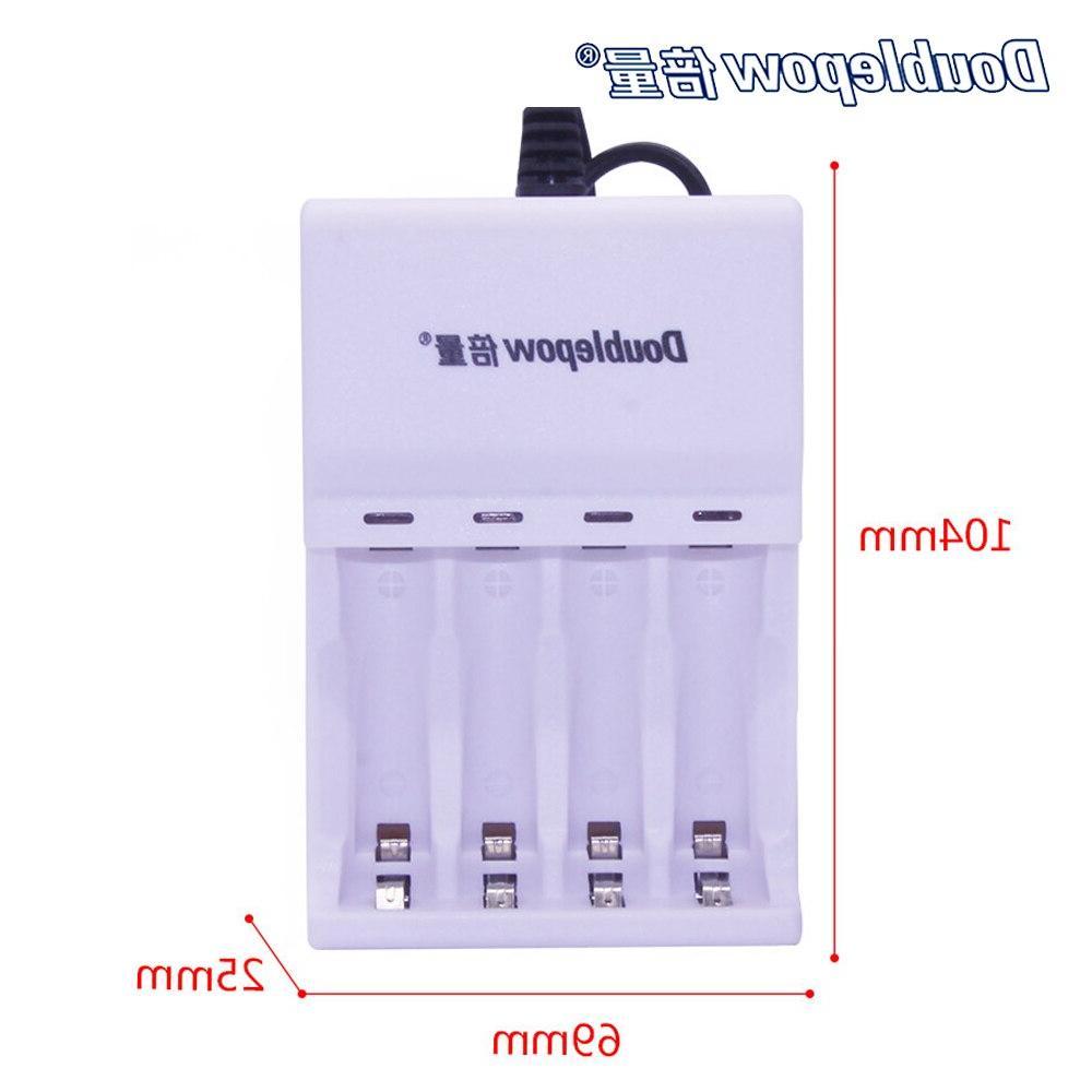 AA <font><b>Battery</b></font> 4 Slots For <font><b>Battery</b></font> 1200mAh 2A Portable