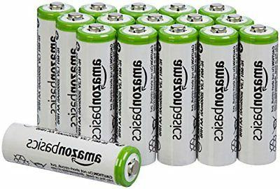 AmazonBasics AA Rechargeable Batteries  - Packaging May Vary