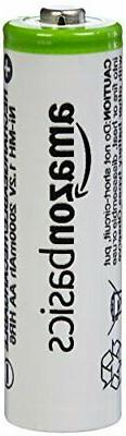 AmazonBasics AA Rechargeable Batteries Pre-charged - Battery