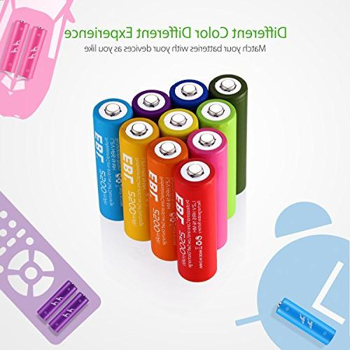 EBL Rechargeable High Capacity 2500mAh